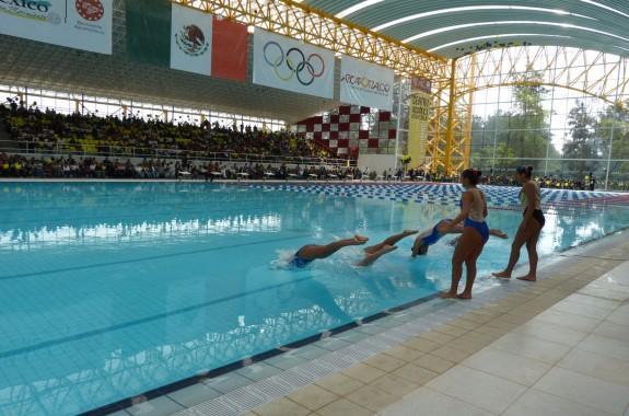Centro acu tico azcapotzalco deportivo reynosa for Clases de natacion df