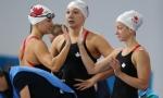 Plata para Canadá en el 4x200 femenil en los Commonwealth Games