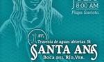 Travesia de Aguas Abiertas Santa Ana en Veracruz