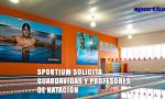 Sportium solicita guardavidas y profesores de natación.